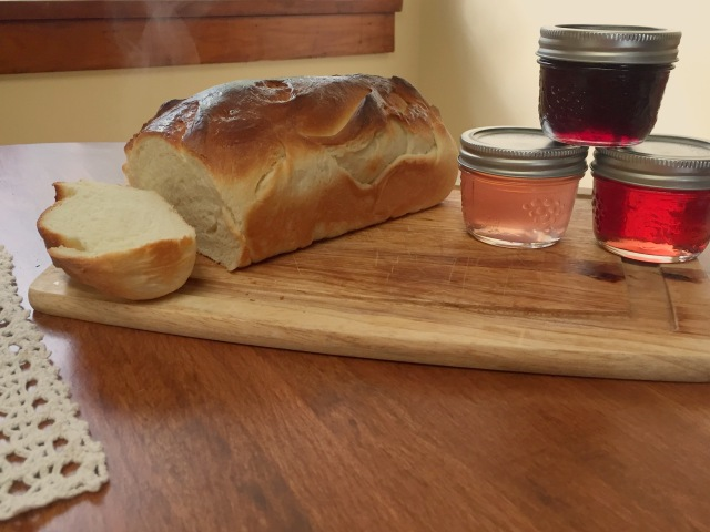 Jelly and bread